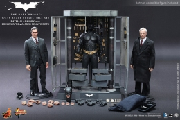 Preorders: The Dark Knight: Batman Armory with Bruce Wayne & Alfred 1:6 scale figure set