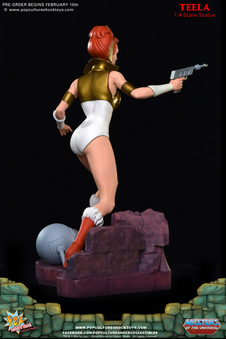 Preorders: Pop Culture Shock Masters of the Universe Teela ...