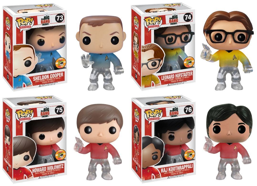 Shop News Funko The Big Bang Theory Star Trek Amp Ritorno