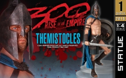 Preorders: Gentle Giant – 300 Rise of an Empire 1/4 Statue Themistocles