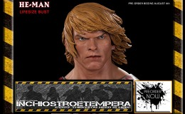 Preorders: Pop Culture Shock – Masters of the Universe He-Man 1/1 scale Bust