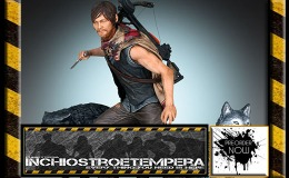 Preorders: Gentle Giant – The Walking Dead Statue 1/8 Daryl & the Wolves
