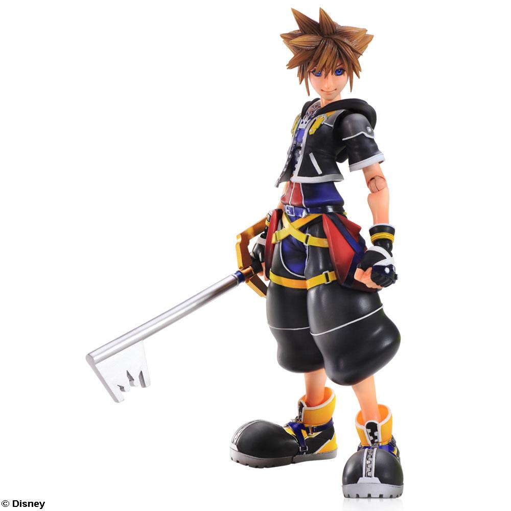 Sora Kingdom Hearts Kingdom Hearts: Kingdom Hearts II Play Arts Kai