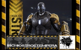 Preorders: Hot Toys – Iron Man 3 Iron Man Mark XXV – Striker 12″ figure