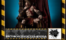 Preorders: Gaming Heads – God of War Statue 1/4 Kratos on Throne