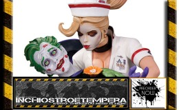 Preorders: Diamond/DC Collectibles – James Gordon, Joker & Harley Quinn Bombshell + Wonder Woman Holiday Statues