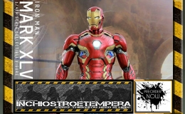 Preorders: Hot Toys – The Avengers AOU Iron Man Mark XLV 1/4 + Iron Man Mark XL Shotgun 12″