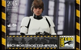 Fiere: SDCC 2015 – HOT TOYS 2015 Toy Fair Exclusive STAR WARS Luke Skywalker Stormtrooper Disguise Ver.