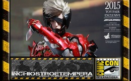 Fiere: SDCC 2015 – HOT TOYS – 2015 Toy Fair Exclusive Metal Gear Rising: Revengeance Raiden Inferno Armor Version