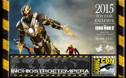 Fiere: SDCC 2015 – HOT TOYS 2015 Toy Fair Exclusive IRON MAN 3 Ironman Mark XXIVTank