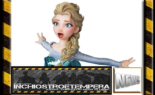 """18/""""x48/"""" Custom Full Color Frozen Anna and Elsa Theme Vertical Door Banner"""