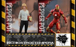 Preorders: Hot Toys – Iron Man 3: Pepper Potts and Mark IX – Sixth Scale Figure Set
