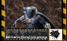 Preorders: Kotobukiya – Fine Art Statue 1/6 Black Panther + ARTFX Iron Man Mark XLV