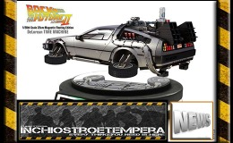 News: Kids Logic – Back To The Future II – De Lorean magnetic floating edition