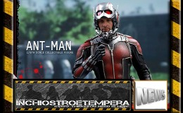 12″ AF News: Hot Toys – Ant-Man 1/6th scale Collectible Figure Update