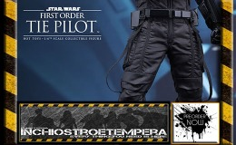 Preorders: Hot Toys: Star Wars The Force Awakens: First Order TIE Pilot 12″ Figure