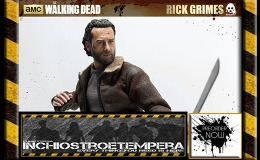 Preorders: ThreeZero – The Walking Dead Action Figure 1/6 Rick Grimes