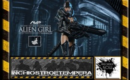 Preorders: Hot Toys – AVP: Hot Angel Series – Alien Girl Sixth Scale Figure
