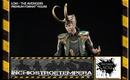 Preorders: Sideshow – Tom Hiddleston as Loki Premium Format Statue