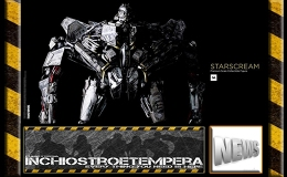 12″ Figure News: 3AToys – Transformers Starscream Premium Scale Collectible Figure