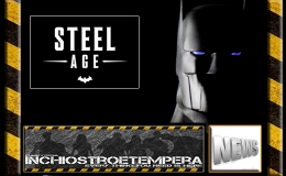 12″ AF News: 3A Toys – DC Comics Steel Age Batman 1/6 Scale Figure