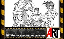 Tavole Originali: L'Arte di Marco Castiello – PERRY RHODAN Cover Art # 1 e2