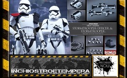 Preorders: Hot Toys – Star Wars The Force Awakens: First Order Stormtrooper Officer Set