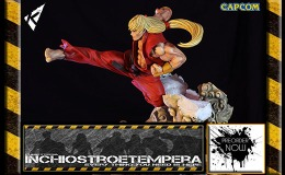 Preorders: Kinetiquettes – Street Fighter Battle of the Brothers Diorama 1/6 Ken Masters