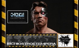 Preorders: Chronicle Collectibles – Terminator: Battle Damaged T-800 1/2 scale Bust