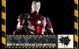 Preorders: Hot Toys: Iron Man Mark XLVI 12″ Power Pose Series + War Machine Mark III