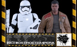 Preorders: Hot Toys – Star Wars The Force Awakens Finn/Riot Stormtrooper 12″ Set
