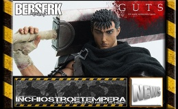 12″ AF News: Threezero – Berserk Guts 1/6 Scale Figure
