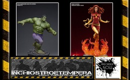 Preorders: Sideshow – Marvel – Dark Phoenix PF + Avengers: Age of Ultron Hulk Maquette