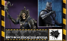 Preorders: Sideshow – Hot Toys – Armored Batman 12″ Figure + MOTU Skeletor Statue