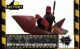 Preorders: Factory Ent. – Marvel: Deadpool Rocket Ride Premium Motion Statue
