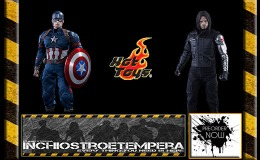 Preorders: Hot Toys – Captain America + Winter Soldier – Civil War 12″ Figures