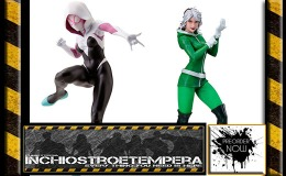 Preorders: Kotobukiya – Marvel Now! Bishoujo Spider-Gwen + ARTFX+ Rogue
