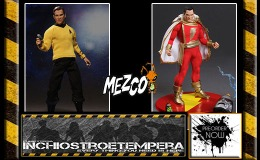 Preorders: Mezco – Star Trek Kirk + DC Shazam One:12 Collective Figures