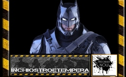 Preorders: Hot Toys – Armored Batman (Black Chrome Version) 12″ Figure Movie Masterpiece Series