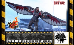 Preorders: Hot Toys – Falcon 12″ Figure Captain America: Civil War – Movie Masterpiece Series