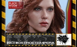 Preorders: Hot Toys – Black Widow 12″ Figure Captain America: Civil War – Movie Masterpiece Series