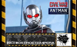 Preorders: Hot Toys – Ant-Man 12″ Figure Captain America: Civil War – Movie Masterpiece Series