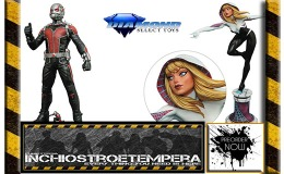 Preorders: Diamond: Spider-Gwen Statue by C. Moore + Ant-Man Movie Version Figure