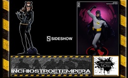 Preorders: Sideshow: Batman & Catwoman Premium Format™ Figures Classic TV Series