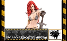 Preorders: Dynamite Ent. – Women of Dynamite: Red Sonja Statue by J.S. Campbell