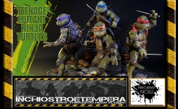 Preorders: Prime 1 Studios – Teenage Mutant Ninja Turtles 1990: 4 piece set