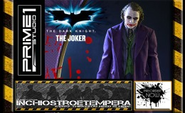 Preorders: Prime 1 Studios – The Dark Knight 1/2 Statue Heath Ledger as The Joker