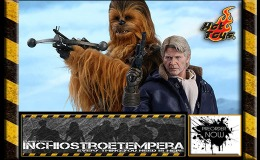 Preorders: Hot Toys – Star Wars Episode VII – Han Solo and Chewbacca Sixth Scale Figure Set Movie Masterpiece Series