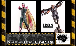 Preorders: Iron Studios – Captain America Civil War Falcon & Vision 1/10 Statues