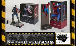Preorders: Muckle Mannequins – Iron Man Mark XLII, Spiderman & Capitan America 1/4 Statues